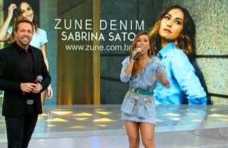 Programa da Sabrina - Zune Denim - Ação Integrada - 16.12.17