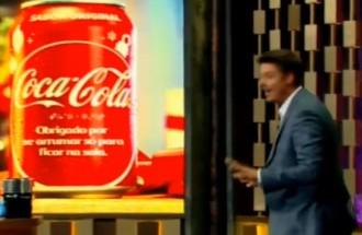 Programa do Porchat - Coca Cola - Ação Integrada - 21.12.17