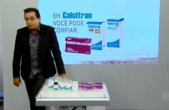 Domingo Show - Calcitran - Ação Comercial com VT - 11.03.18