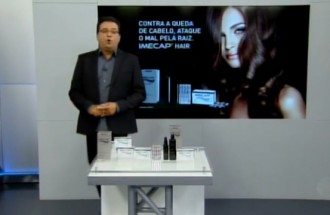 Domingo Show - Imecap Hair - Ação Comercial com VT - 11.03.18