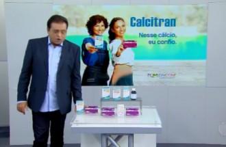 Domingo Show - Calcitran - Ação Comercial com VT - 05.08.18