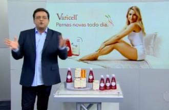 Domingo Show - Varicell - Ação Comercial com VT - 05.08.18