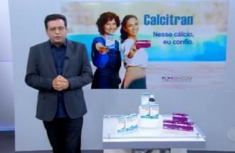 Domingo Show - Calcitran - Ação Comercial com VT - 14.10.18