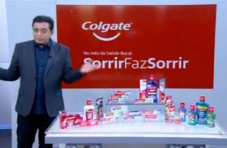 Domingo Show - Colgate - Ação Comercial com VT - 14.10.18