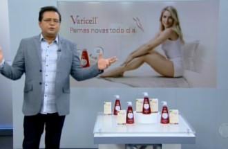 Domingo Show - Varicell - Ação Comercial com VT - 09.12.18