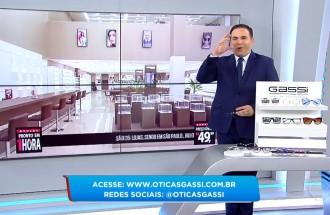 Balanço Geral - Óticas Gassi - Ação Comercial - 18.02.19