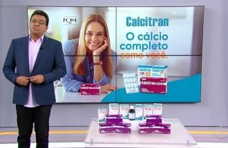 Domingo Show - Calcitran - Ação Comercial com VT - 19.05.19