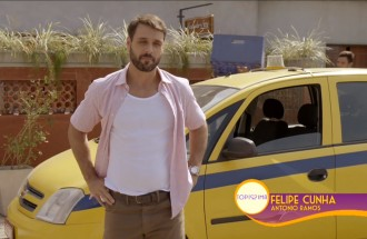 Felipe Cunha interpreta Antonio em Topíssima, nova novela da Record TV