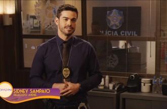 Sidney Sampaio será o delegado André em Topíssima, próxima novela da Record TV