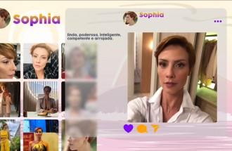 Sophia vai esbanjar poder e glamour em Topíssima, nova novela da Record TV